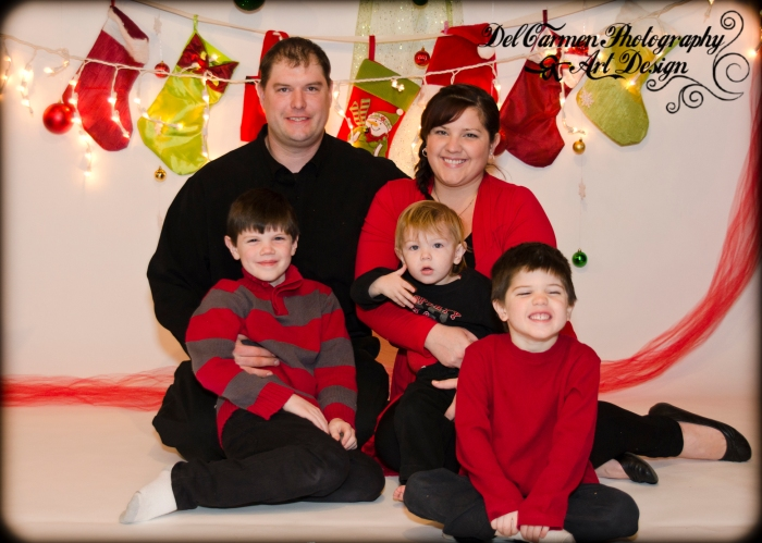 Christmas Family Photography