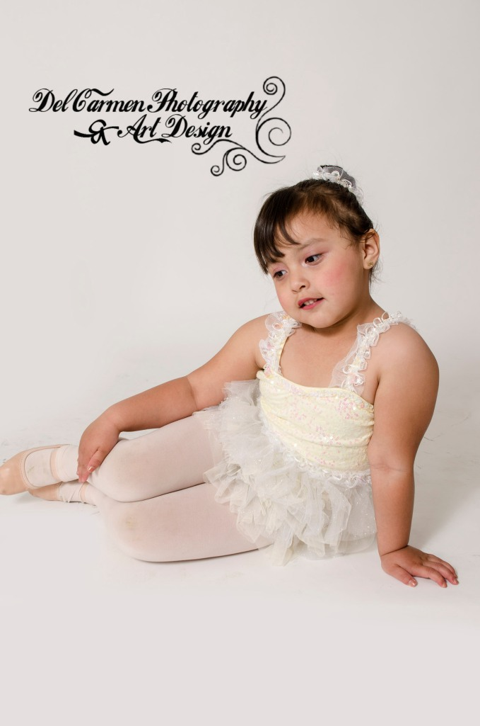 Vanessa's 1st dance recital outfit June 2014