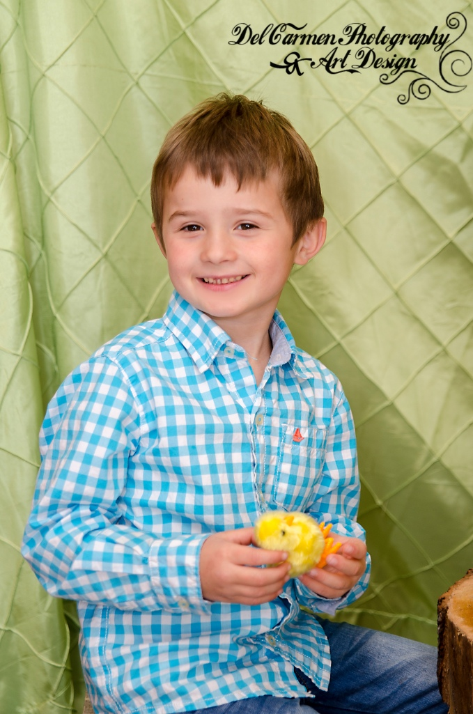 Olivia and Quinton's Easter Photos