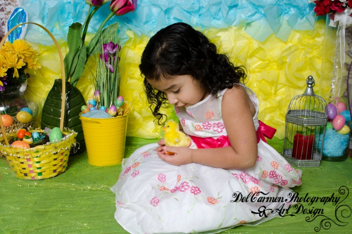 Vanessa and Melissa's Easter Photos